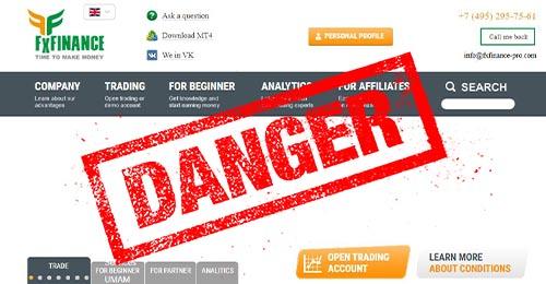 FxFINANCE (FxFinance-pro.com) отзывы клиентов